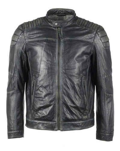 Кожаная куртка MUSTANG