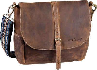 b8f6108e35913 Greenburry Umhängetasche »Vintage Santana 1618 Überschlagtasche«