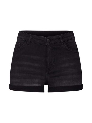 REVIEW Jeanshotpants »HW BLACK SHORTS«