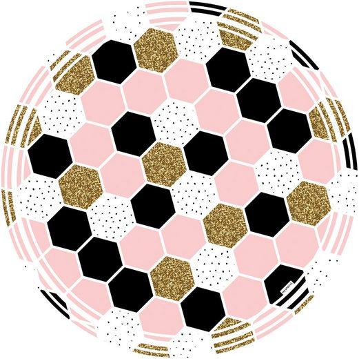 MYSPOTTI Vinylbodenmatte »Vania«, rund, wasserfest und statisch haftend