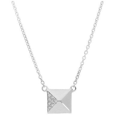 Smart Jewel Collier »geometrisches Design Pyramide«