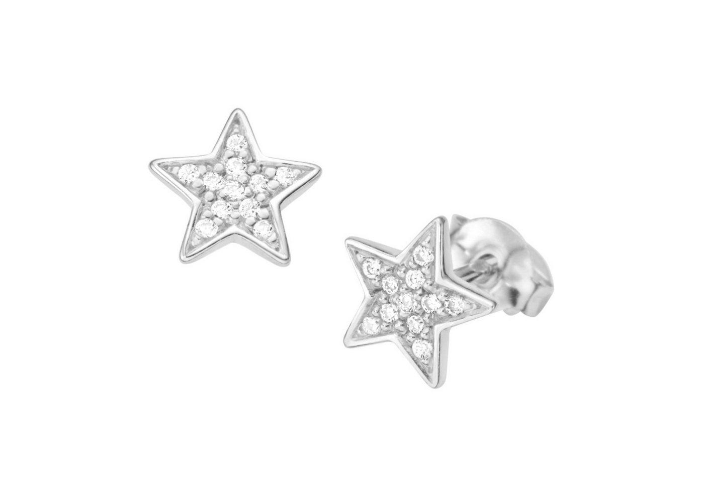 Smart Jewel Paar Ohrstecker »Stern«   Schmuck > Ohrschmuck & Ohrringe > Ohrstecker   Smart Jewel