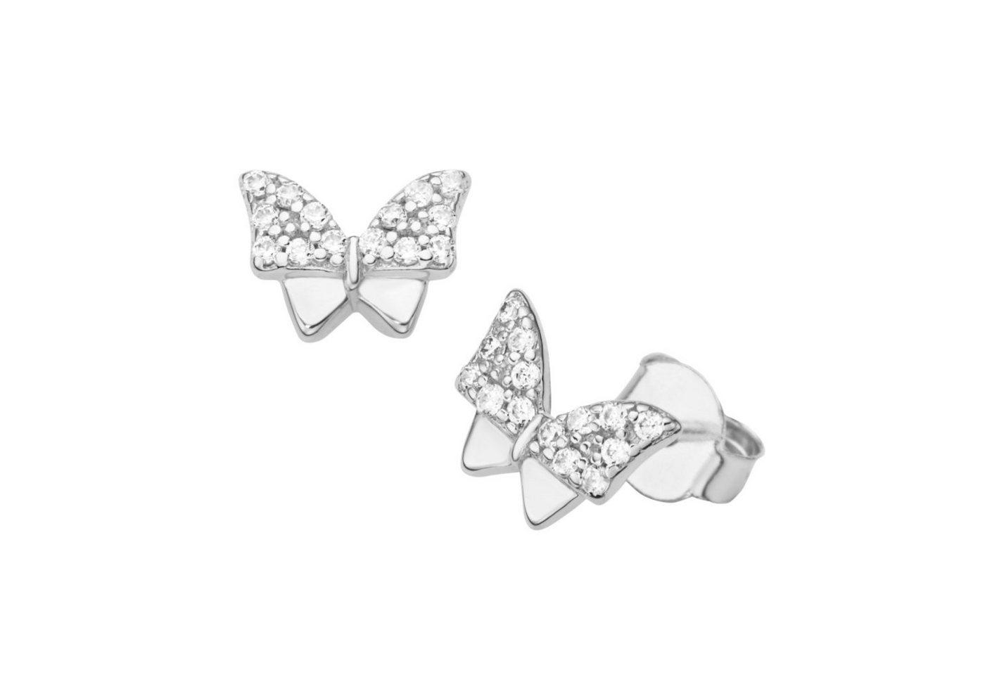 Smart Jewel Paar Ohrstecker »Schmetterling«   Schmuck > Ohrschmuck & Ohrringe > Ohrstecker   Smart Jewel