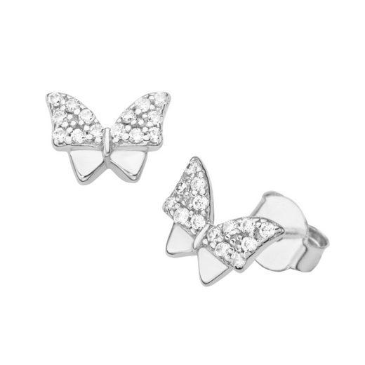 Smart Jewel Paar Ohrstecker »Schmetterling«