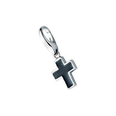 GIORGIO MARTELLO MILANO Charm Kreuz »schwarzes Kreuz«