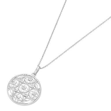 Smart Jewel Kette mit Anhänger »rund, Ornamente«