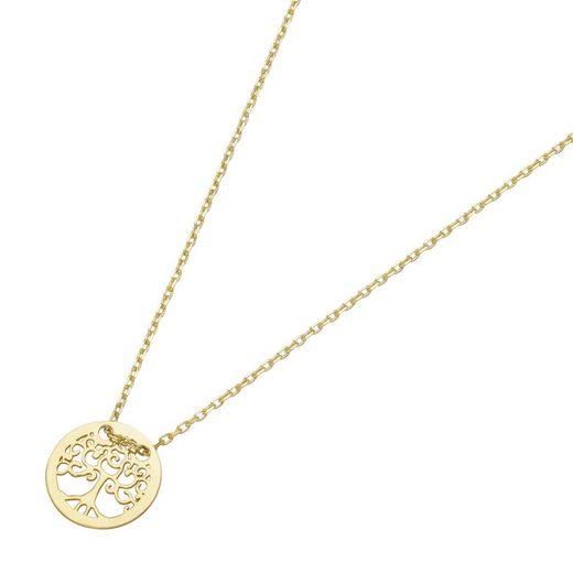 Luigi Merano Goldkette »Lebensbaum, Gold 585«