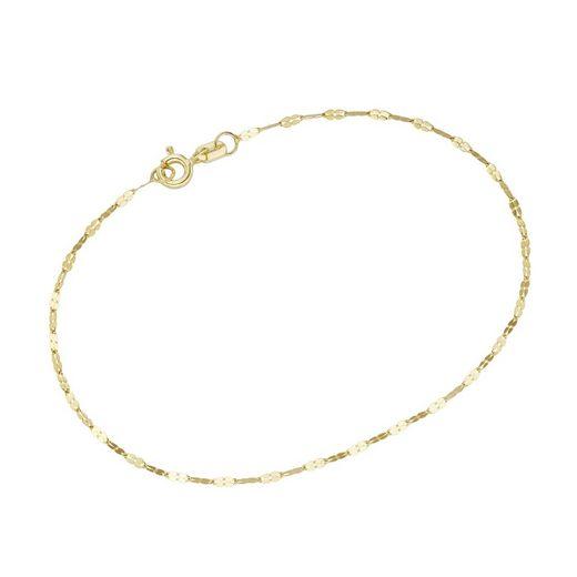 Luigi Merano Armband »Fantasiegliederung, massiv, Gold 585«