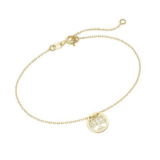 Luigi Merano Armband »Lebensbaum, Gold 585«