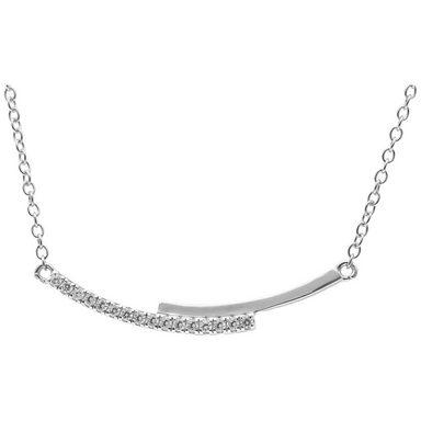Smart Jewel Collier »trendig mit Zirkonia«