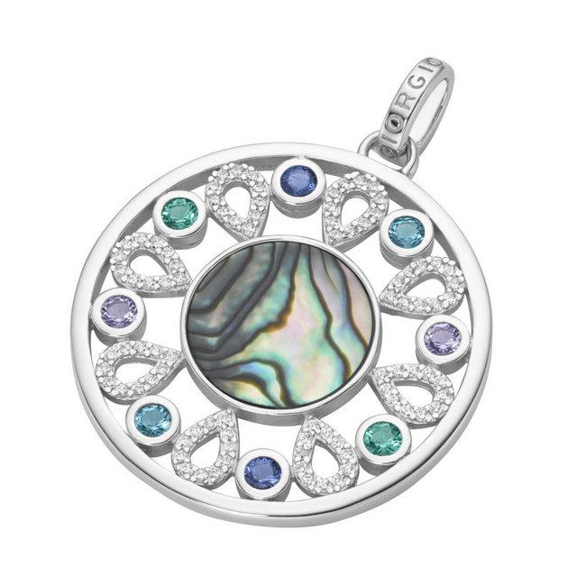 GIORGIO MARTELLO MILANO Kettenanhänger »mit Zirkonia, Kristallsteinen und schimmernder Einlage« | Schmuck > Halsketten > Kettenanhänger | GIORGIO MARTELLO MILANO