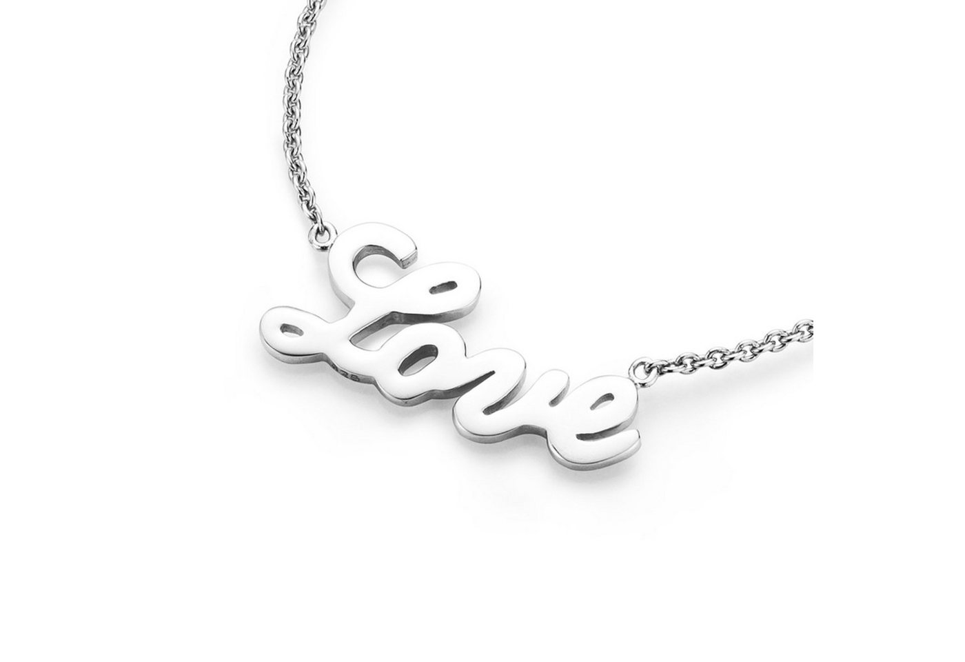 Smart Jewel Statementkette »Love - Schriftzug« | Schmuck > Halsketten > Statementketten | Smart Jewel