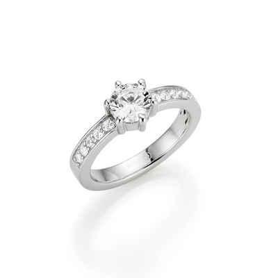 GIORGIO MARTELLO MILANO Verlobungsring »Zirkonia«