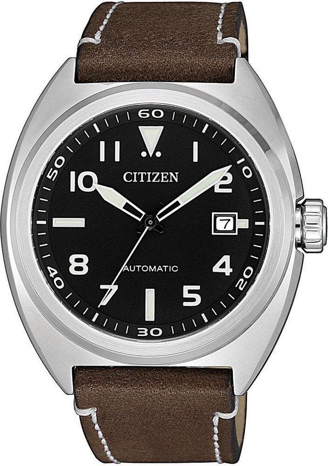 Citizen Automatikuhr »NJ0100-11E« | Uhren > Automatikuhren | Braun | Ab | Citizen