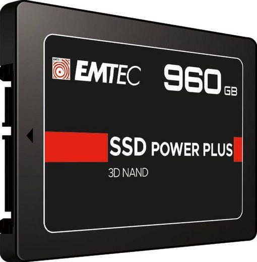 """EMTEC »X150« SSD 2,5"""" (960 GB) 520 MB/S Lesegeschwindigkeit, 500 MB/S Schreibgeschwindigkeit)"""