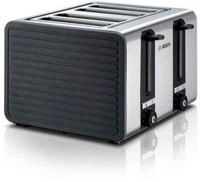 BOSCH Toaster TAT7S45, 4 kurze Schlitze, 1800 W