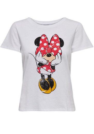Only Rundhalsshirt »MICKEY«