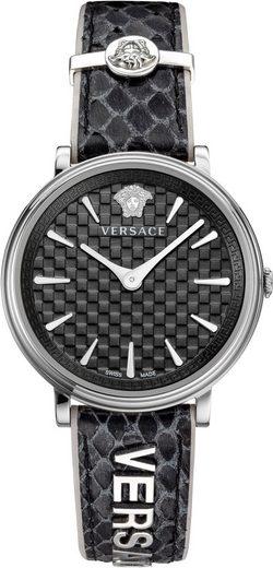 Versace Schweizer Uhr »V-CIRCLE/ LOGOMANIA EDITION, VE8100919«