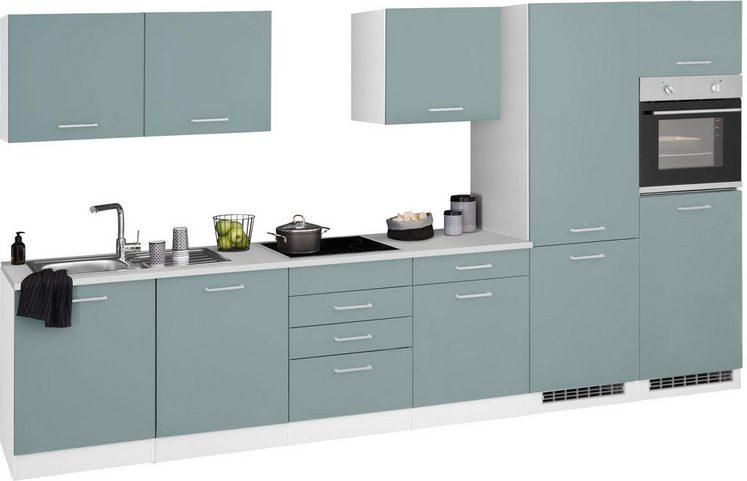 HELD MÖBEL Küchenzeile »Visby«, ohne E-Geräte, Breite 360 cm