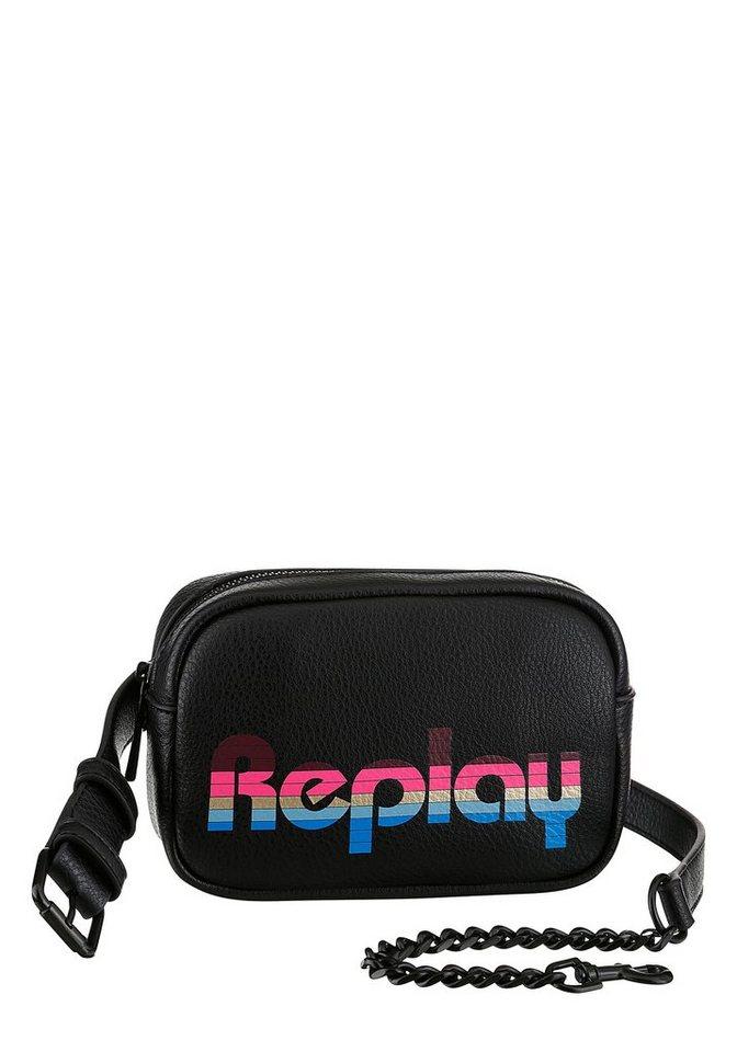 replay -  Gürteltasche, mit praktischer Einteilung