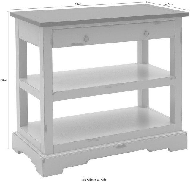 Küchenregale - SIT Regal »Spa« in Vintage Optik  - Onlineshop OTTO