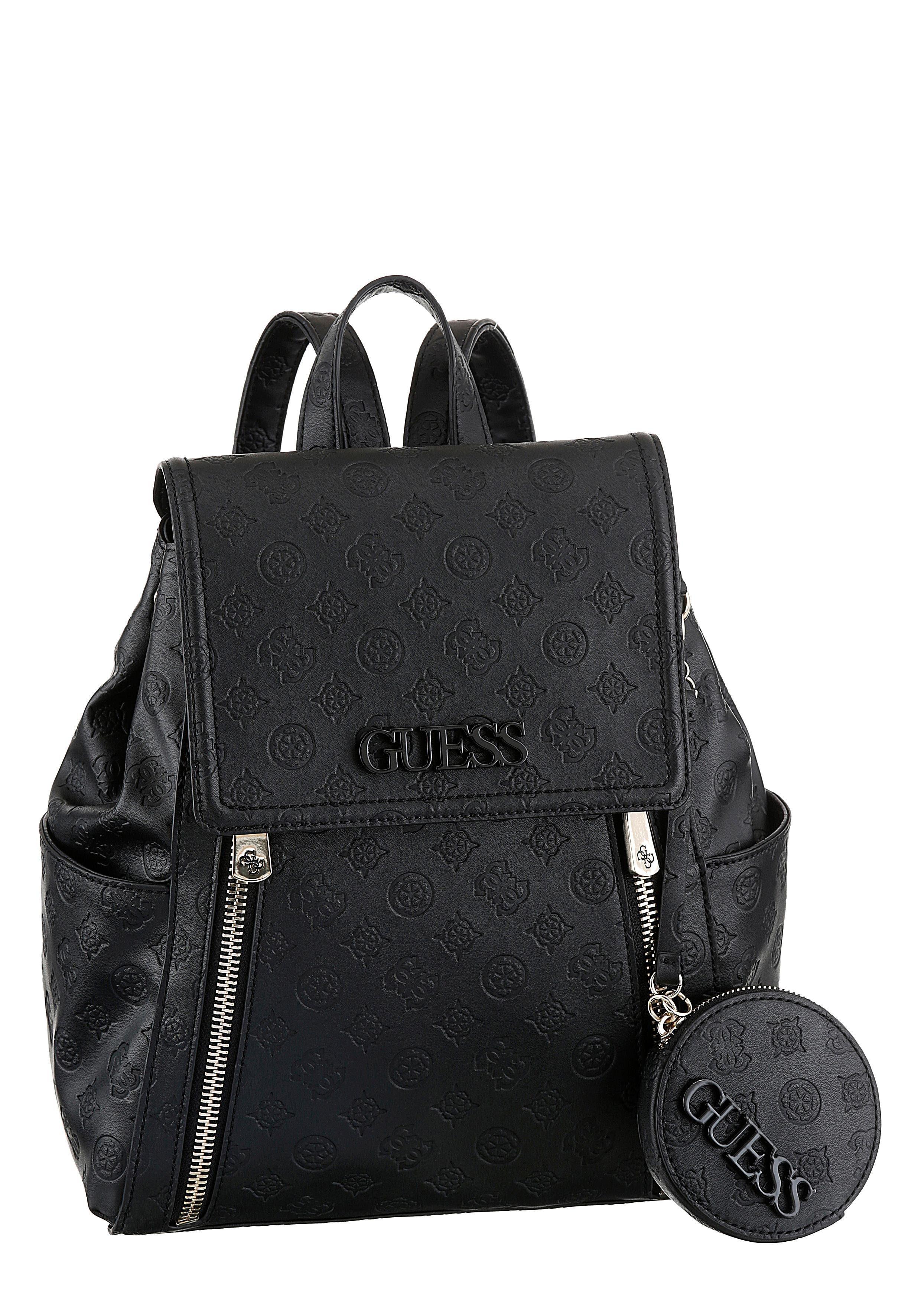 Guess Cityrucksack »Janelle Large Backpack«, mit abnehmbarem Reißverschluss Täschchen online kaufen | OTTO
