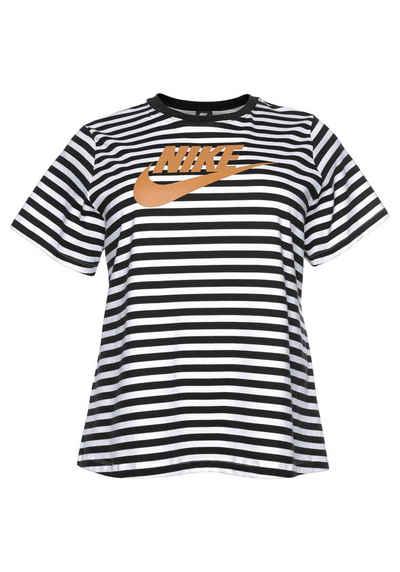 08c2d149b130a9 Nike Sportswear T-Shirt »WOMEN NIKE SPORTSWEAR TOP SHORTSLEEVE PLUS SIZE«  Große Größen