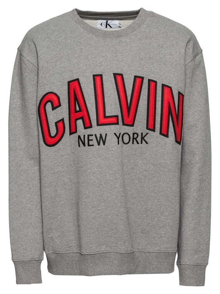 klassischer Stil heiß-verkauf freiheit der Verkauf von Schuhen Calvin Klein Sweatshirt »GRAPHIC CREW NECK« kaufen   OTTO