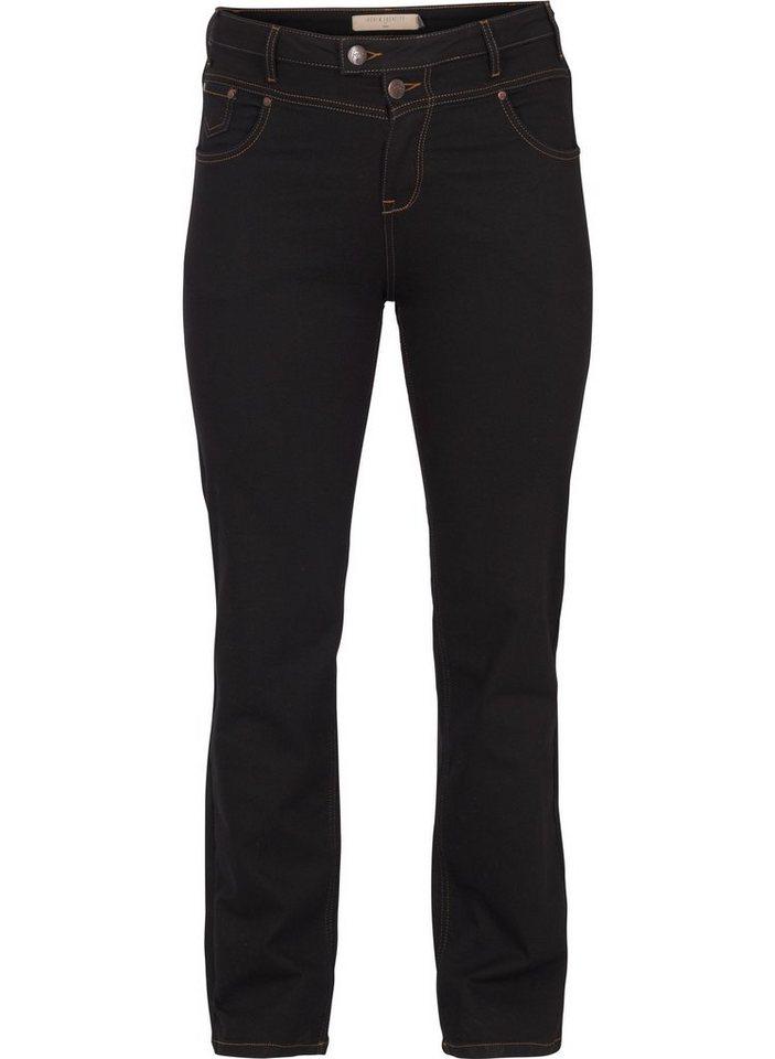 Zizzi Regular-fit-Jeans Gemma Jeans Große Größen Damen ...