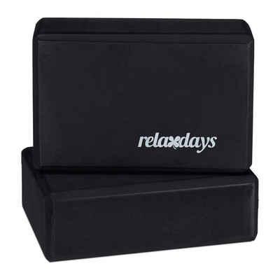 relaxdays Yogablock »Yogablock im 2er Set«