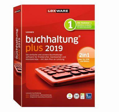 LEXWARE Lexware buchhaltung plus 2019 Jahresversion »Einfache und schnelle Buchhaltungssoftware«