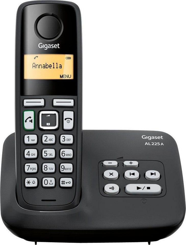 gigaset al225 a schnurloses dect telefon mobilteile 1. Black Bedroom Furniture Sets. Home Design Ideas