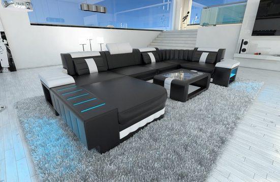 Sofa Dreams Wohnlandschaft »Bellagio«, U Form