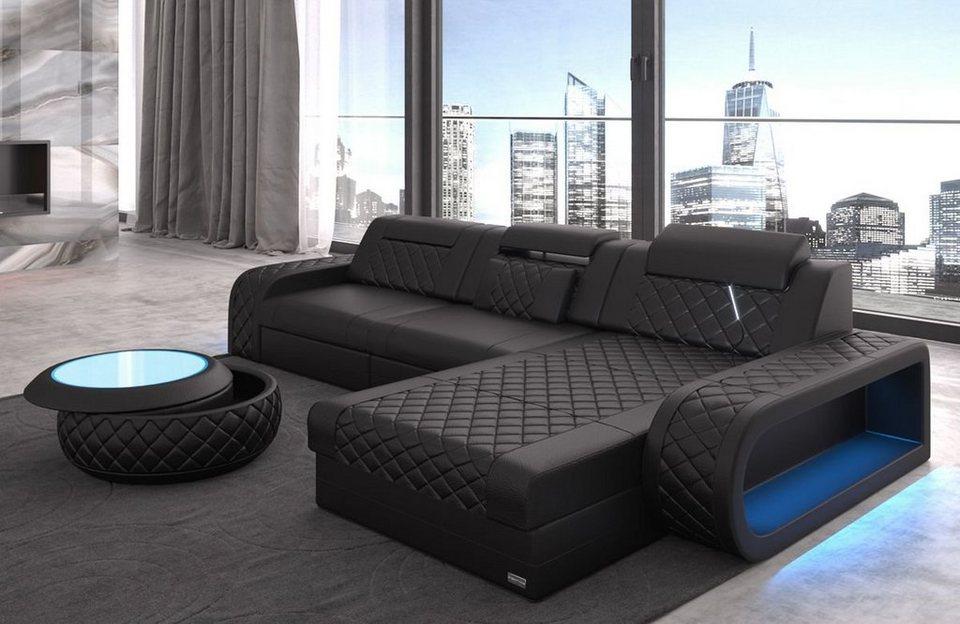 Sofa Dreams Ecksofa »Berlin«, L Form, Modernes Design ...