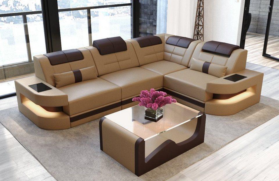 Sofa Dreams Ecksofa Como L Form Modernes Design Exklusive Sofas Online Kaufen Otto