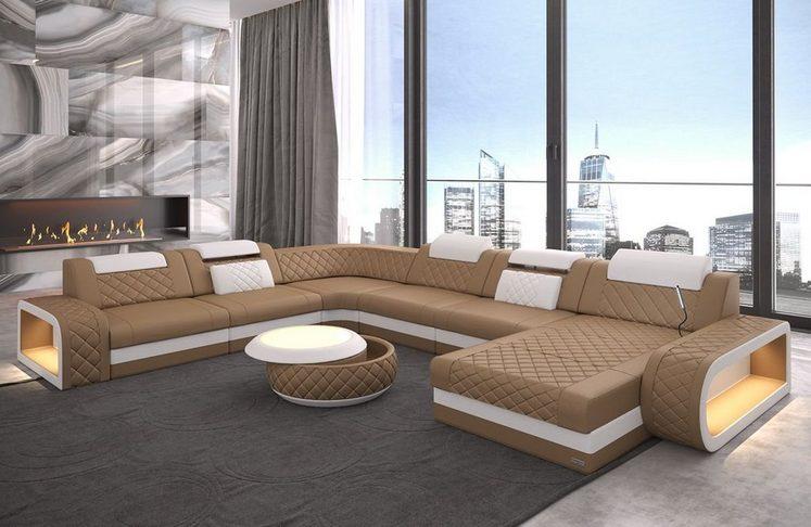 Sofa Dreams Wohnlandschaft »Berlin«, U Form XXL