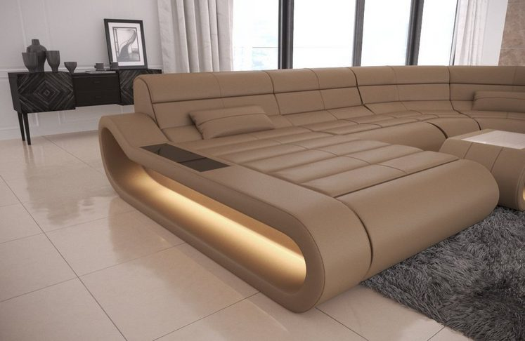 Sofa Dreams Wohnlandschaft »Concept«, XXL