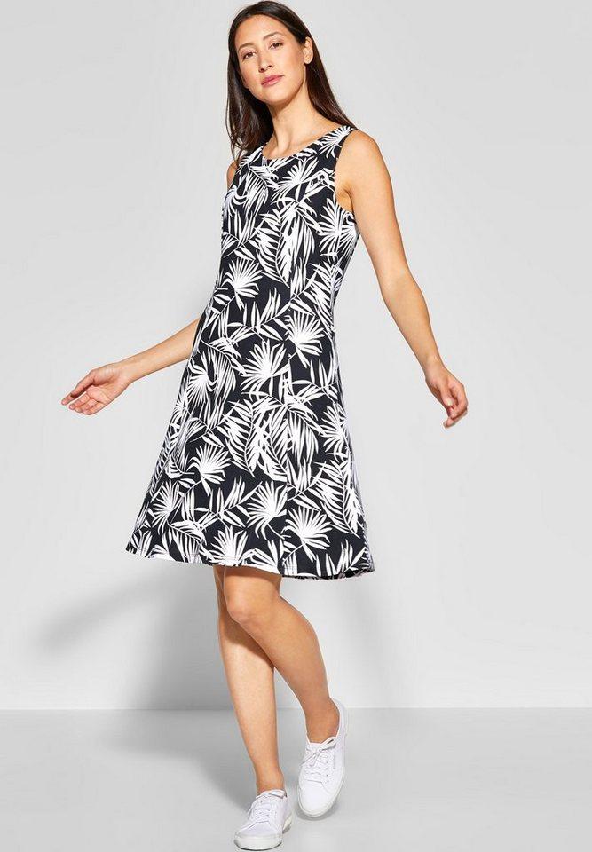STREET ONE A-Linien-Kleid mit allover Print kaufen | OTTO