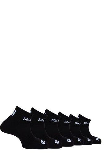 Salomon Socken (6-Paar) mit weichem Komfortbund