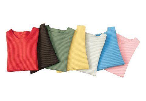 Classic Basics Rippen-Shirt mit Seitenschlitzen