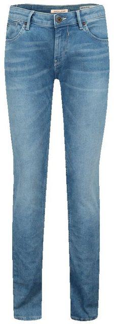 Hosen - Garcia Slim fit Jeans mit mittelhoher Taille › blau  - Onlineshop OTTO