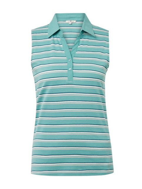 TOM TAILOR 2-in-1-Top »Ärmelloses Poloshirt« | Bekleidung > Tops > 2-in-1-Tops | Tom Tailor