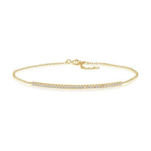 Sif Jakobs Jewellery Armband mit Zirkonia-Steinen »FUCINO«