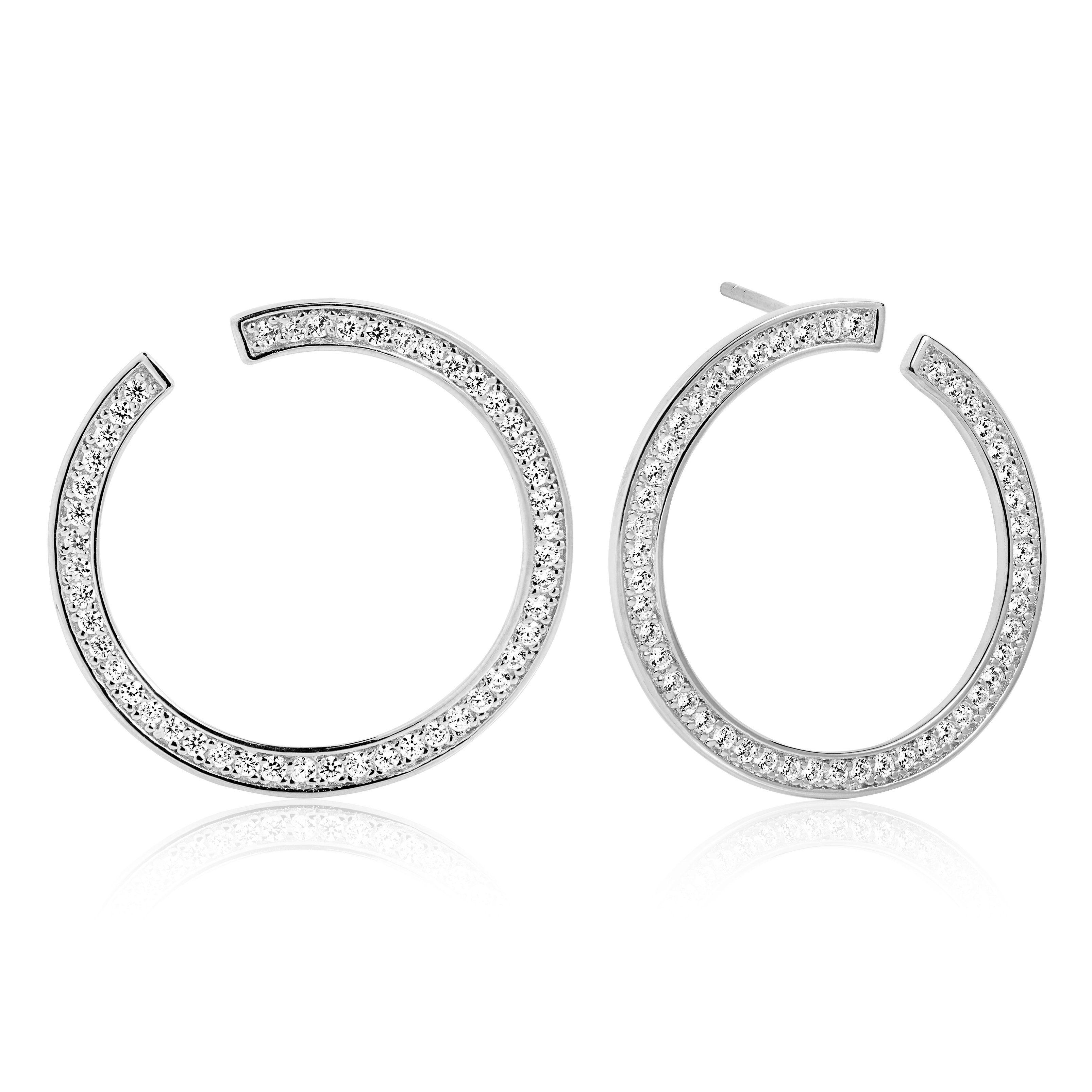 Sif Jakobs Jewellery Ohrringe im eleganten Look »VALIANO CIRCOLO GRANDE«