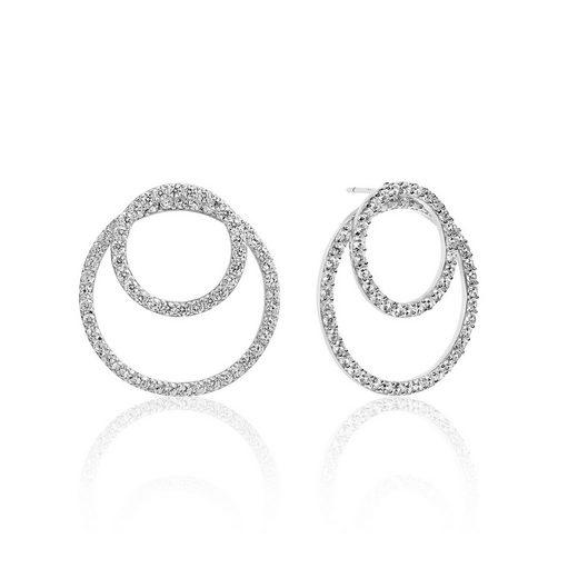Sif Jakobs Jewellery Ohrstecker mit zwei Kreisen »VALENZA DUE«