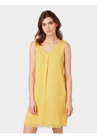 TOM TAILOR Платье »Chiffon-Kleid с Knoten-D...