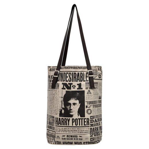 DOGO Umhängetasche »Daily Prophet Harry Potter«, Vegan