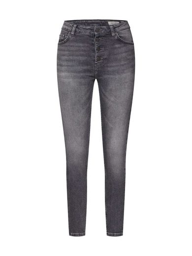 REVIEW Skinny-fit-Jeans »SKINNY GREY BUTN«