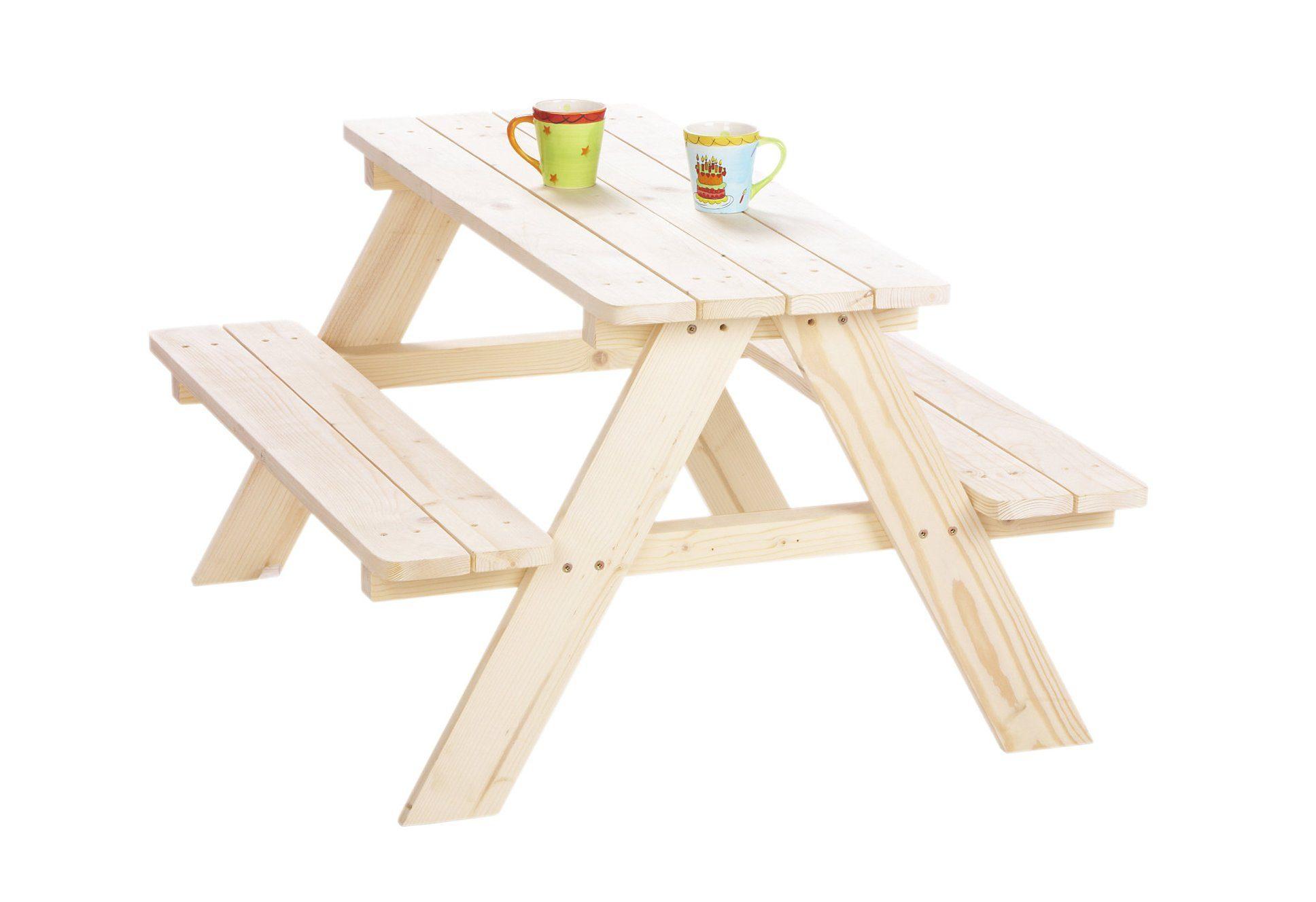 Pinolino Kindersitzgarnitur aus Holz »Nicki für 4«