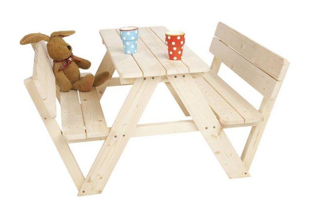 Sitzmöbel - Pinolino® Kindersitzgruppe »Nicki für 4, mit Rückenlehne«, Made in Europe  - Onlineshop OTTO